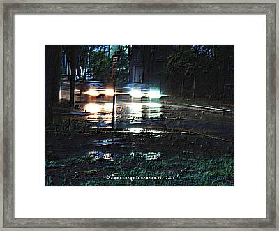 Dead Heat Framed Print