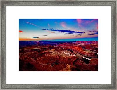 Dead Horse Point Framed Print