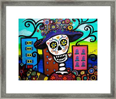 Dead In The City Framed Print by Pristine Cartera Turkus