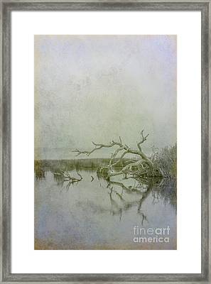 Framed Print featuring the digital art Dead In The Water by Randy Steele