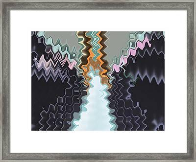 Dead Man Walking Framed Print by Lenore Senior