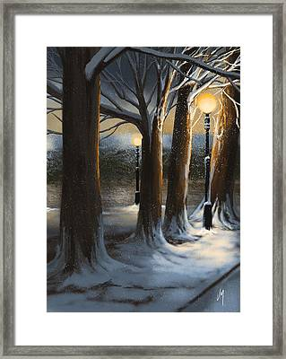 Dead Of Night Framed Print by Veronica Minozzi