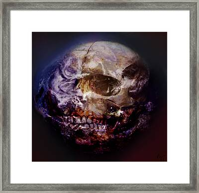 Dead Planet Framed Print by Vic Weiford