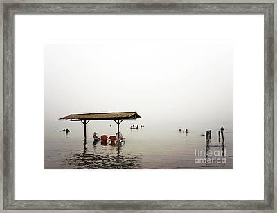 Dead Sea Framed Print