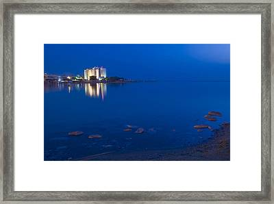 Dead Sea Framed Print by Kobby Dagan