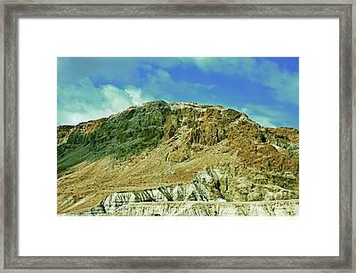 Dead Sea Scroll Caves 2 Framed Print