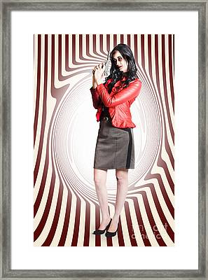 Dead Secret Agent With The Licence To Kill Framed Print by Jorgo Photography - Wall Art Gallery