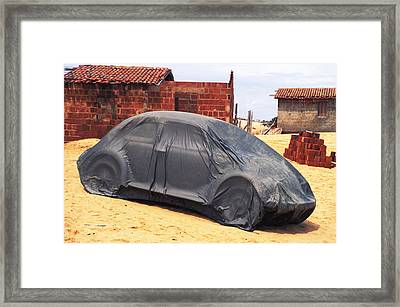 Framed Print featuring the photograph Dead Volkswagon In Brazil by Carl Purcell