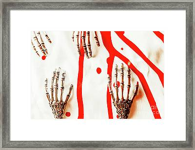 Deadly Design Framed Print