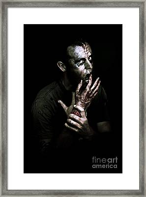 Deadly Midnight Snack Framed Print by Jorgo Photography - Wall Art Gallery