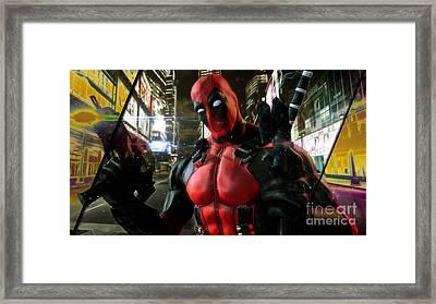 Deadpool Collection Framed Print