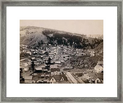 Deadwood South Dakota 1888 - No. 3 Framed Print