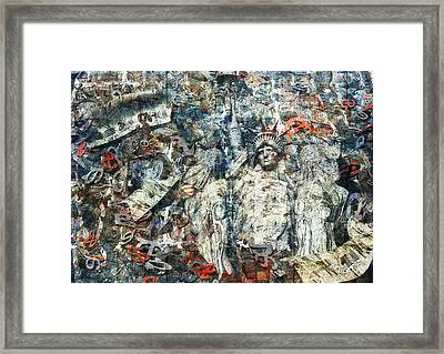 Deafening Silence Framed Print by Haruo Obana