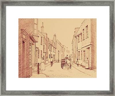 Deal In Kent Uk Framed Print by David Godbolt