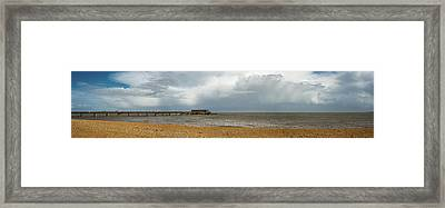 Deal Pier Framed Print