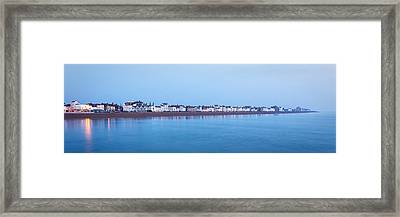 Deal Seafront Framed Print by Ian Hufton