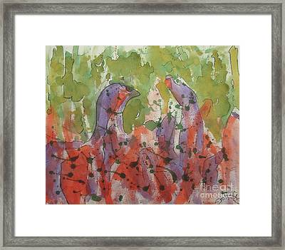 Deamons Framed Print by Jason Whitehead