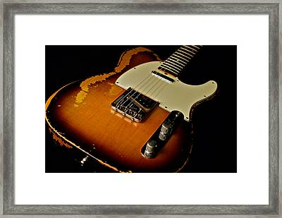 Dean Deleo - 1967 Fender Telecaster Framed Print by Lisa Johnson