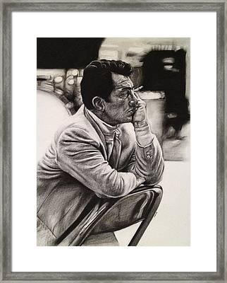 Dean Martin Framed Print by Steve Hunter