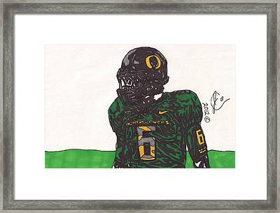 De'anthony Thomas 2 Framed Print