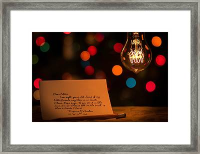 Framed Print featuring the photograph Dear Editor by Chris Bordeleau