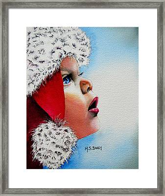 Dear Santa Framed Print by Maria Barry