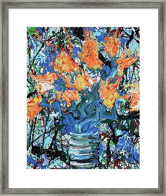 Dear Vincent, I Love You. Jackson Framed Print