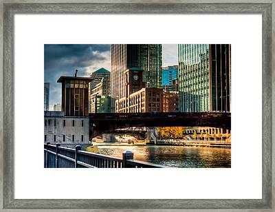 Dearborn Bridge Framed Print