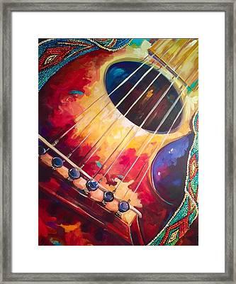 Dearest Freind  Framed Print by Heather Roddy