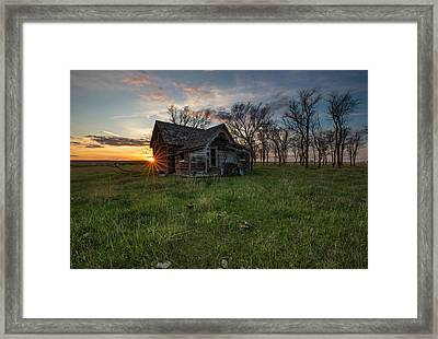 Framed Print featuring the photograph Dearly Departed by Aaron J Groen