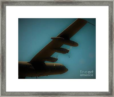 Angel Framed Print by Austin Robinson