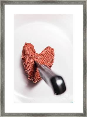 Death By Chocolate Framed Print