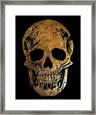 Death By Glamour Framed Print by Danielle Trudeau