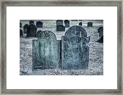 Death By Smallpox Framed Print by Tamyra Ayles