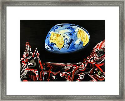 Death By Starlight Framed Print