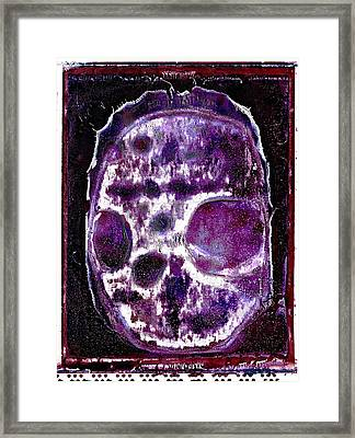 Framed Print featuring the photograph Death Followed By A Question Mark by Josean Rivera