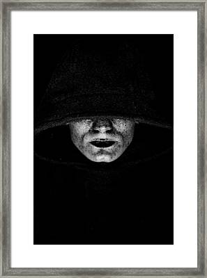 Death Framed Print by Gabor Pozsgai