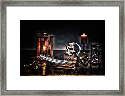 Death Is Certain - Life Is Not Framed Print