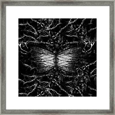 Death Framed Print by Jonas Karlsson