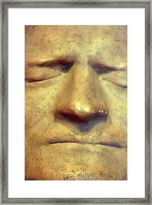 Death Mask 2 Framed Print