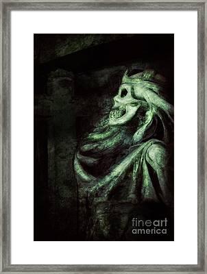 Death Framed Print by Mythja Photography