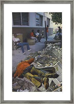 Death Of A Salesman Framed Print by Kevin Porter
