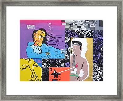 Death Of An Artist Framed Print by Takayuki  Shimada