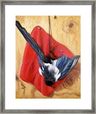 Death Of Beauty Framed Print by Donelli  DiMaria