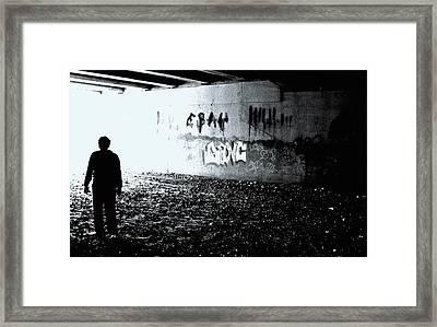 Death Of Ebay Framed Print by Ed Smith