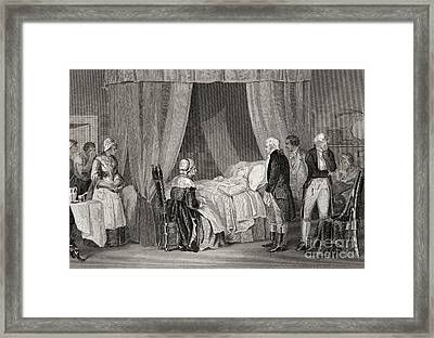 Death Of Washington December 1799 Framed Print