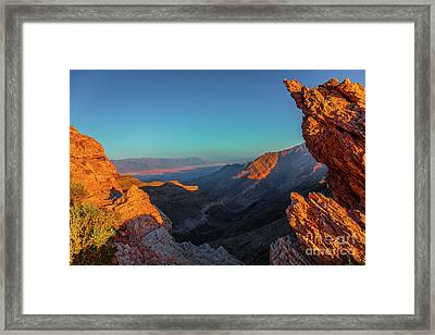 Death Valley 1 Framed Print