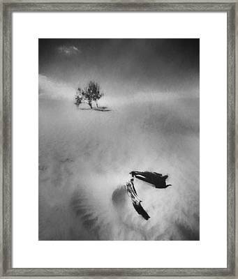 Death Valley 1990 Framed Print by Scott Norris
