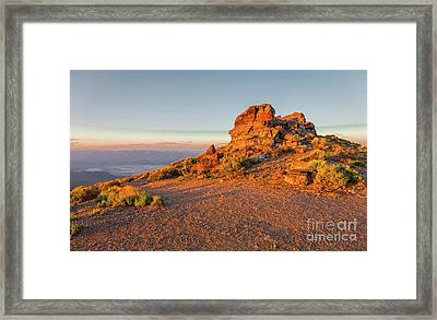 Death Valley 2 Framed Print