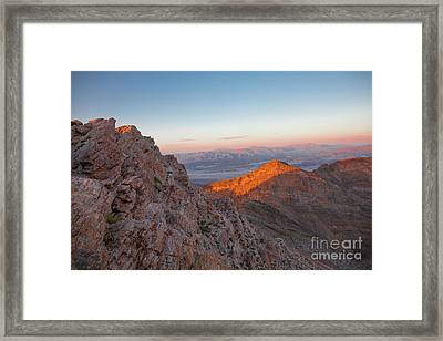 Death Valley 4 Framed Print